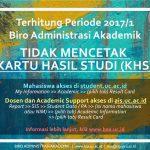 Informasi KHS