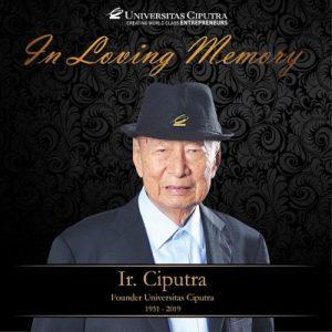 A Tribute to Ir. Ciputra