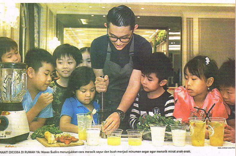 Biar Bocah Suka Sayur dan Buah. Jawa Pos. 5 Agustus 2018. Hal.23