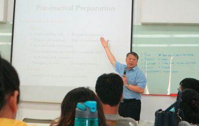 Kuliah tamu oleh Chooi Seng Ong dari Singapura: Sudah Siapkah Anda untuk Menikah?