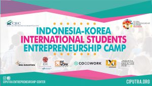 Indonesia Korea International Students Entreprenenurship Camp 2018