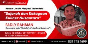 """Sejarah dan Kekayaan Kuliner Nusantara"""