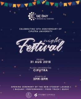UC Day – Dies Natalis Universitas Ciputra Ke XII