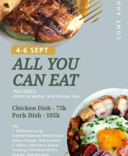 "ALL YOU CAN EAT – By : Restoran ""L'ETOILE BISTRO"""