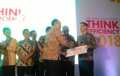 Juara 1 Kompetisi Shell Think Efficiency 2018